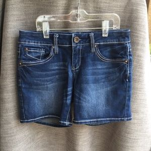 Hydraulic Denim Shorts